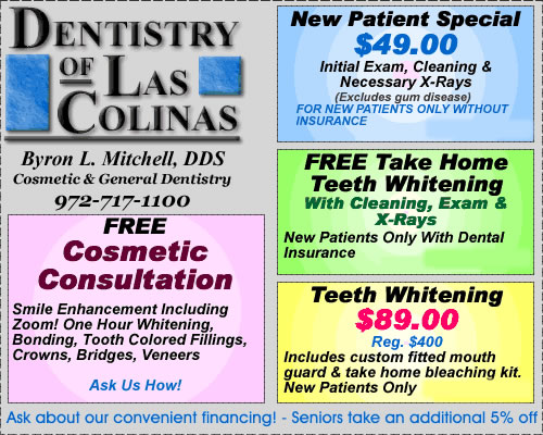 dental coupons las colinas | irving